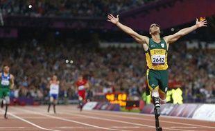 Le Sud-africain Oscar Pistorius à Londres, le 8 septembre 2012.