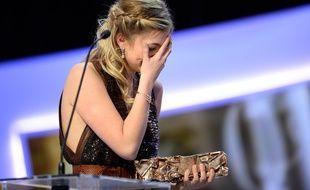 L'actrice Louane Emera en larmes le soir de sCésar 2015