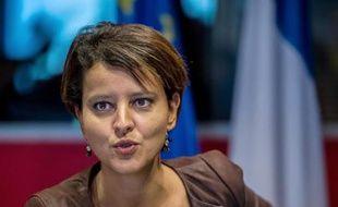 La ministre de l'Education nationale, Najat Vallaud-Belkacem, le 3 octobre 2014 à Lille