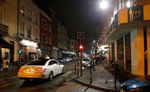 La rue Massena à Lille.