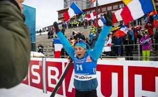 Justine Braisza remporte l'individuel d'Ostersund.