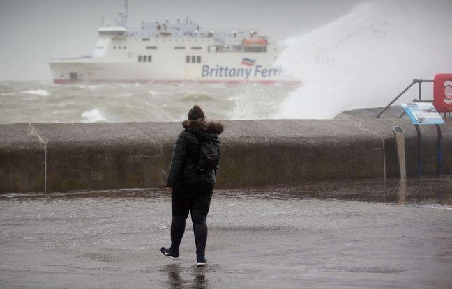 Tempête Ciara: La circulation des ferries a été interrompue entre Calais et Douvres