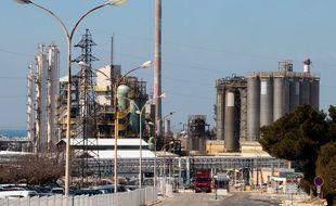Le site pétrochimique de Lavera, où se trouve l'entreprise Kem One (archives).