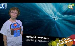 Caroline Vié présente sa chronique de cinéma sur le film « Star Trek Into Darkness»