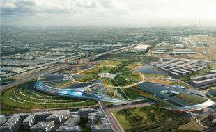 Europacity prévoit 230.000 m² de commerces, un parc aquatique, une piste de ski, une salle dédiée au cirque, des boites de nuit. Le tout pour un investissement de 3,1 milliards d'euros.