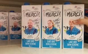 Intermarché lance la marque de lait