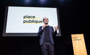 Avec son mouvement Place Publique, Raphaël Glucksmann veut fédérer la gauche.