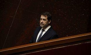 Christophe Castaner, le 31 mars dernier, à l'Assemblée nationale