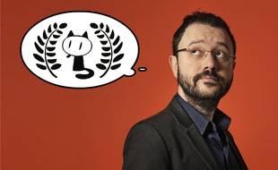 Riad Sattouf a reçu le Fauve d'Or du meilleur album à Angoulême