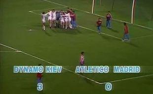 Les Sovietiques n'ont fait qu'une bouchée de  l'Atlético.