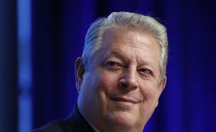 L'ancien vice-président Al Gore, lors d'une conférence sur le climat à Washington, le 21 avril 2017.