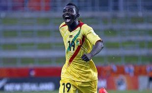 Le Malien Adama Traoré a égalisé contre l'Uruguay
