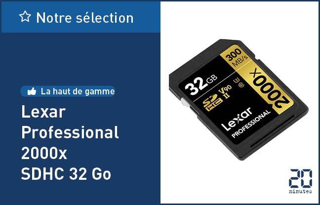 Lexar Professional 2000x SDHC 32 Go
