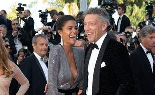 Tina Kunakey (L) and Vincent Cassel attend the screening of 'Girls Of The Sun (Les Filles Du Soleil)' during the 71st annual Cannes Film Festival at Palais des Festivals on May 12, 2018 in Cannes, France.