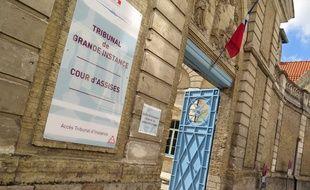 Le Tribunal de grande instance de Saint-Omer, dans le Pas-de-Calais.