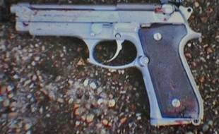 Un modèle de pistolet Beretta (photo d'illustration).