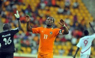 Un but de la tête de Didier Drogba a permis à la Côte d'Ivoire, l'une des grandes favorites de la CAN-2012, de débuter la compétition par une victoire face au Soudan et de prendre une option sur les quarts de finale en compagnie de l'Angola, vainqueur 2 à 1 du Burkina Faso.