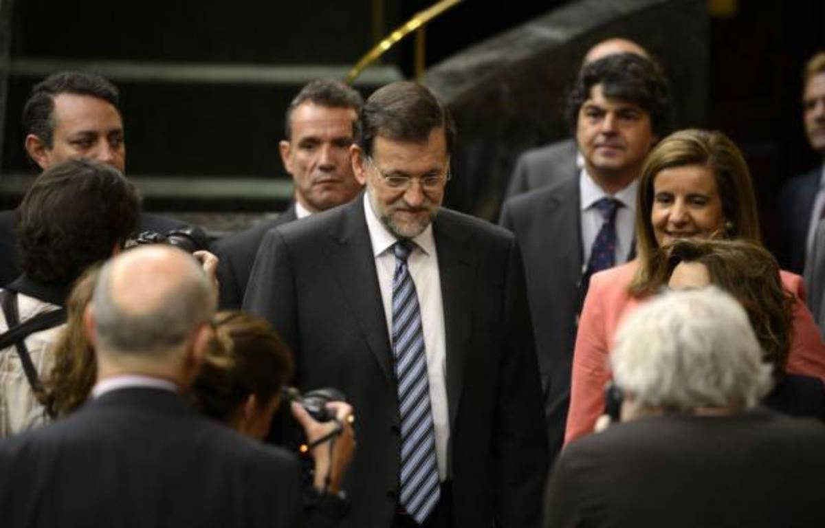 """Le Fonds monétaire international (FMI) a appelé vendredi l'Espagne à présenter un plan de réformes """"clair et cohérent"""", moins d'une semaine après l'annonce d'une aide européenne aux banques espagnoles, dans laquelle le FMI aura un rôle de supervision. – Dani Pozo afp.com"""