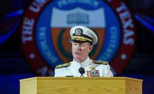 L'ancien amiral William McRaven, en 2014.