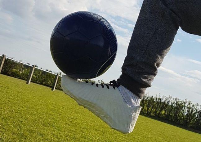 Le chaussure de foot (prototype).