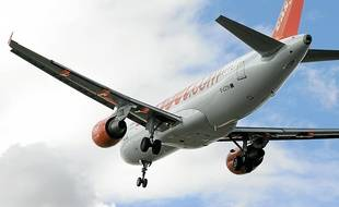 Un avion de la compagnie easyJet