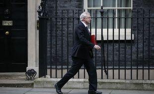 Le ministre britannique chargé du Brexit, David Davis, le 16 janvier 2018.