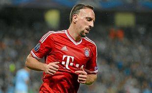 Franck Ribéry, désormais au Bayern, avait séduit le FC Nantes en 2004.