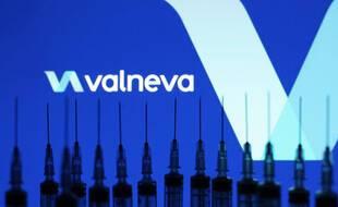 Le logo du laboratoire Valneva.