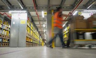 L'entrepôt d'Amazon à Saran (Loiret).