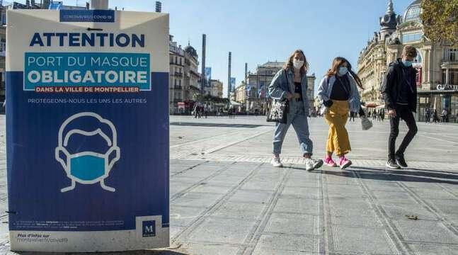 Coronavirus : Sur la côte basque et dans l'Hérault, le port du masque redevient obligatoire
