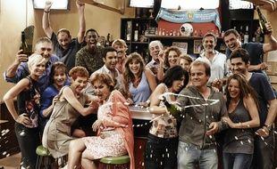 Le casting de la série Plus belle la vie diffusée sur France 3