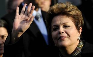La présidente du Brésil Dilma Roussef
