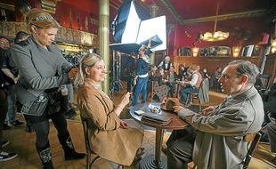 Mardi, des scènes des Nuits d'été, de Mario Fanfani, ont été tournées dans le café Brant de Strasbourg.