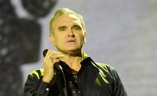 Le chanteur Morrissey en concert au  Way Out West Festival en 2016