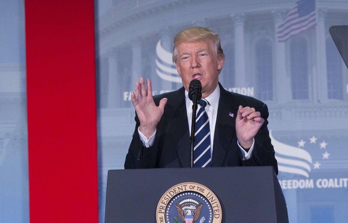 Donald Trump s'est exprimé vendredi 9 juin après le témoignage de James Comey  – Chris Kleponis/NEWSCOM