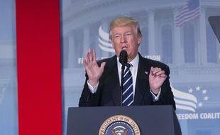 Donald Trump s'est exprimé vendredi 9 juin après le témoignage de James Comey