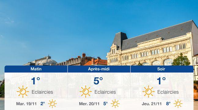 Météo Clermont-Ferrand: Prévisions du lundi 18 novembre 2019 - 20minutes.fr