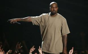 Kanye West aux MTV Video Music Awards, à Los Angeles, le 30 août 2015.