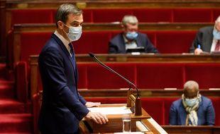 Le ministre de la Santé, Olivier Véran