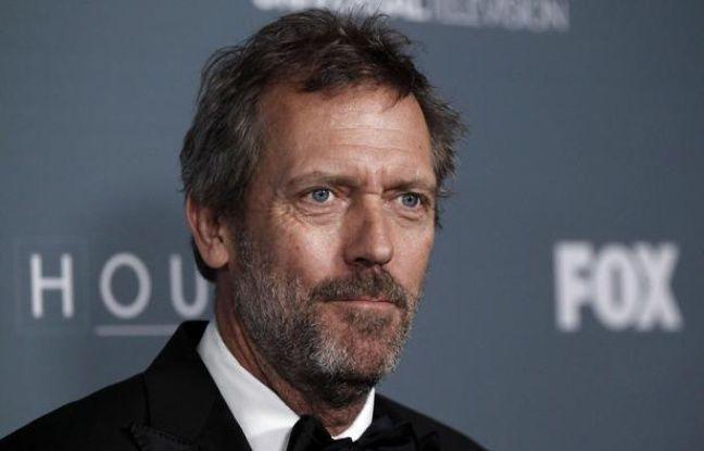 L'acteur Hugh Laurie à la soirée donnée à Los Angeles le 20 avril 2012 pour célébrer la diffusion de l'épisode final de «Dr House».