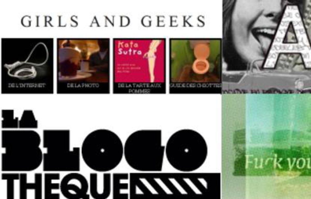 Girls and geeks; la Blogotheque, Fuck You Billy, Abstrait Concret soit 4 blogs de notre top des blogs du 30 juin 2010 – DR