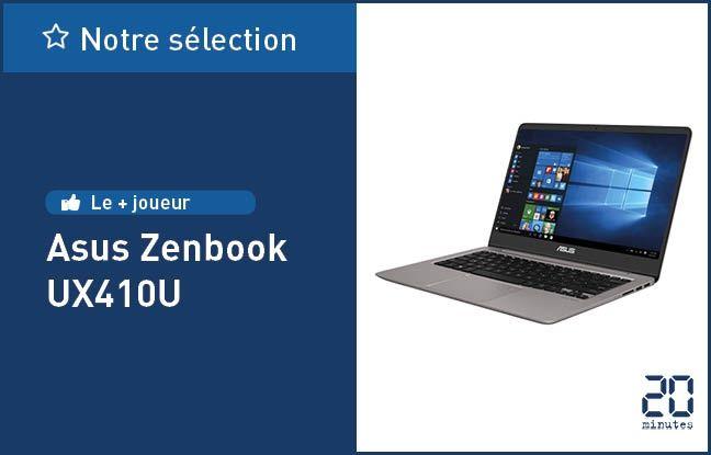 Le Zenbook UX410U, d'Asus