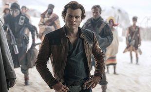 Alden Ehrenreich en Han Solo dans «Solo : A Star Wars Story».