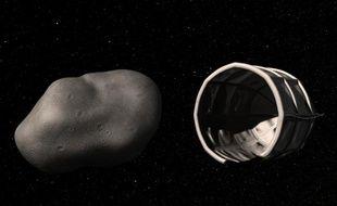 L'entreprise Planetory Resources a dévoilé ses plans pour exploiter les ressources d'astéroïdes voisins de la Terre, le 24 avril 2012.