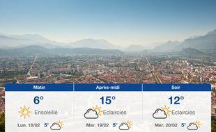 Météo Grenoble: Prévisions du dimanche 17 février 2019
