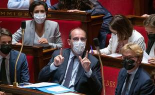Jean Castex à l'Assemblée nationale