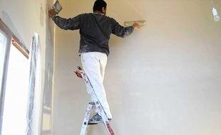 Les ouvriers des métiers du bâtiment sont souvent victimes de TMS.