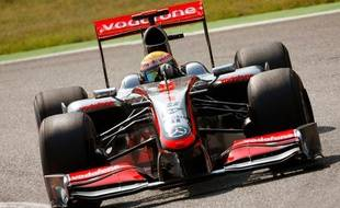 Le pilote Mc Laren Lewis Hamilton, lors des essais libres du Grand Prix de Monza, le 11 septembre 2009.