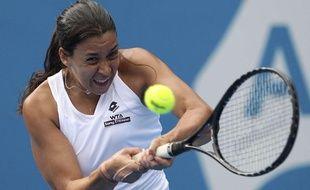 Marion Bartoli lors du deuxième tour de l'Open d'Australie