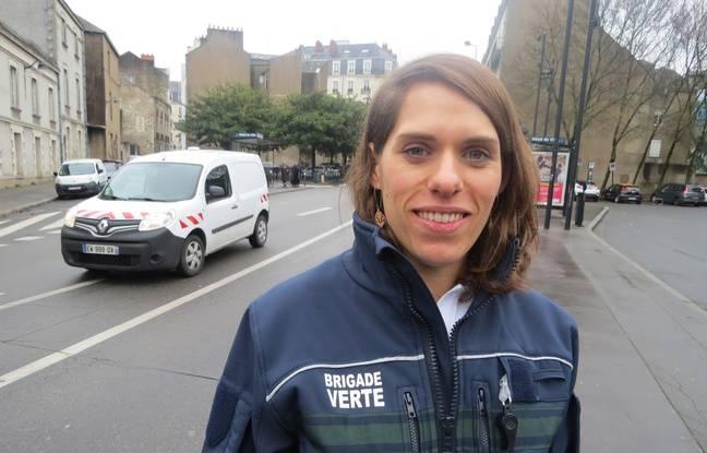 Emilie Carrot est la responsable de la brigade verte de Nantes
